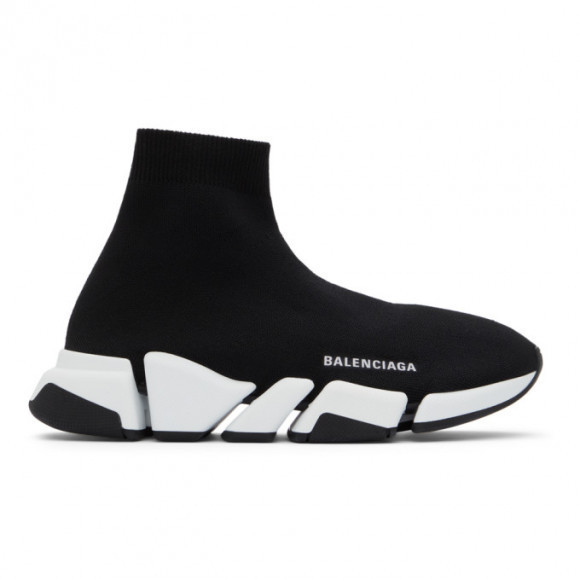 Balenciaga Black Speed 2.0 Sneakers - 617239-W2DB2