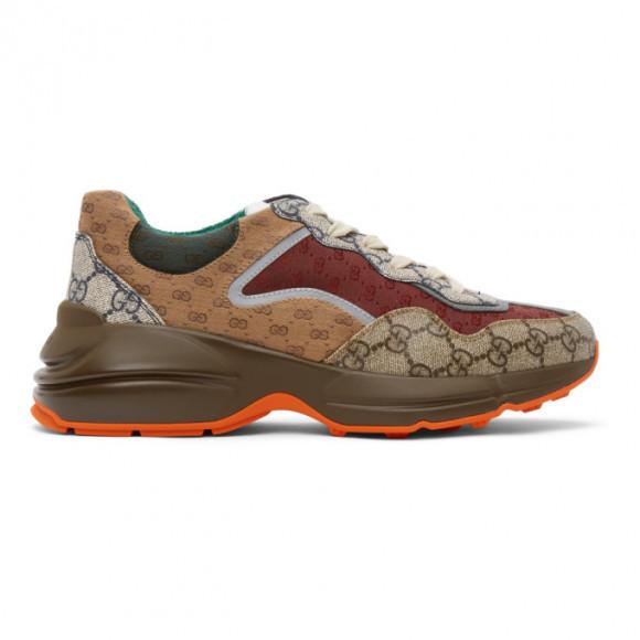 Gucci Multicolor GG Rhyton Sneakers - 619891-99WG0