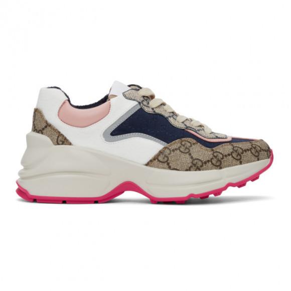 Gucci Multicolor GG Rhyton Sneakers - 620185-99WF0