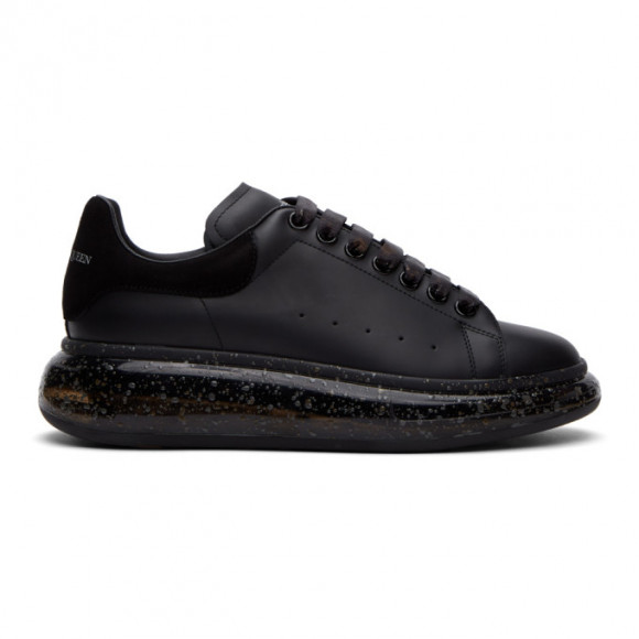 Alexander McQueen Black and Grey Oversized Sneakers - 625174WHYBB