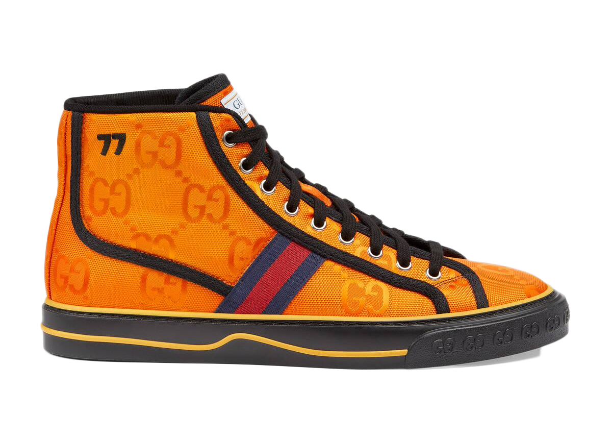 Gucci Off The Grid High Top Orange GG - 628717 H9H80 7575