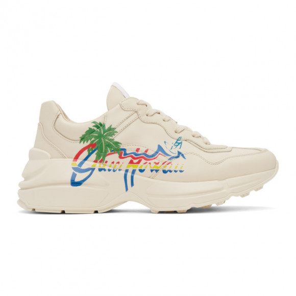 Gucci Beige Gucci Hawaii Rython Sneakers - 630652-DRW00