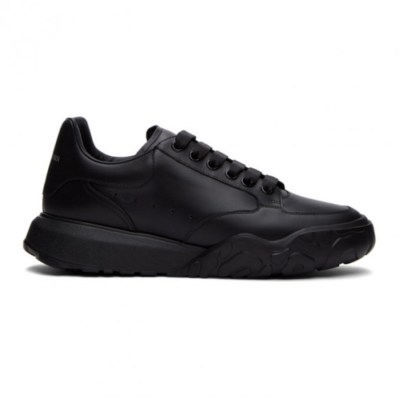 Alexander McQueen Black Low Sneakers - 634619WHZ94