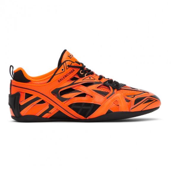Balenciaga Orange and Black Drive Sneakers - 635498-W3AL2