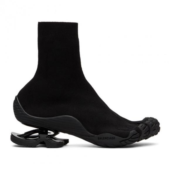 Balenciaga Black Toe High-Top Sneakers - 636912-W3BE1