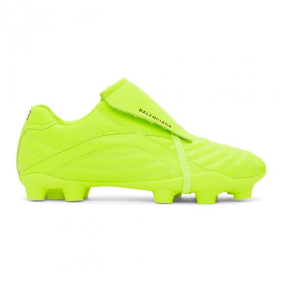 Balenciaga Yellow Soccer Sneakers - 637265-W3BS1