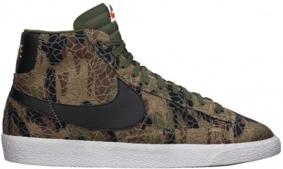 Nike SB Blazer Safari Pack Jungle Camo - 638322-003