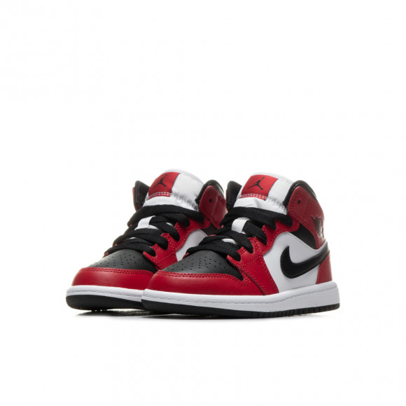 air jordan 1 mid rouge enfant