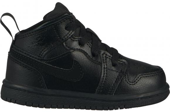 Jordan 1 Mid Black (TD) - 640735-090