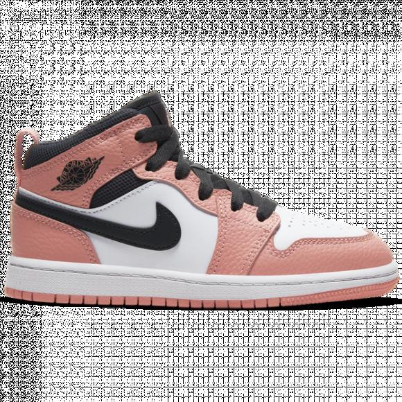 Jordan 1 Mid Pink Quartz (PS) - 640737-603