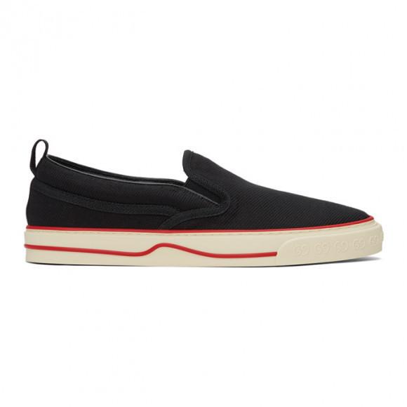 Gucci Black Gucci Tennis 1977 Slip-On Sneakers - 643489-2KH30