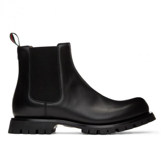 Gucci Black Epilogue Chelsea Boots - 643619-DTNB0
