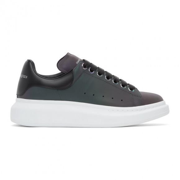 Alexander McQueen Purple Iridescent Oversized Sneakers - 645870W4NR1