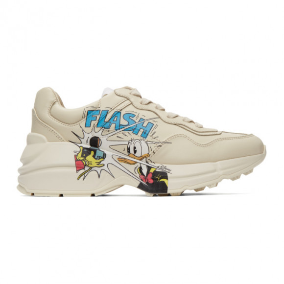 Gucci Off-White Disney Edition Donald Duck Rhyton Sneakers - 646509-DRW00