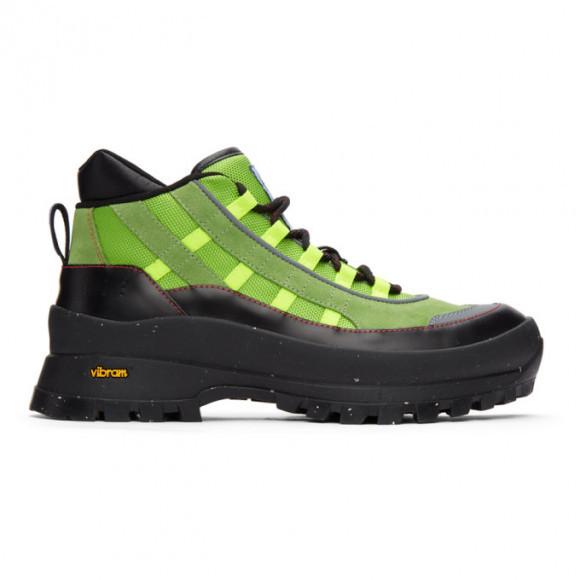 MCQ Green FA-5 Hiking Boots - 652432R2733