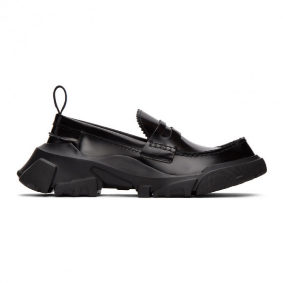 MCQ Black Orbyt Loafers - 652438R2745