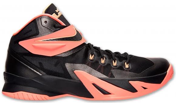 Nike Zoom Soldier 8 Black Mango Peach - 653641-088