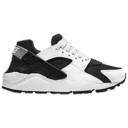 Nike Huarache Run - Boys' Grade School Running Shoes - Black / White / Black