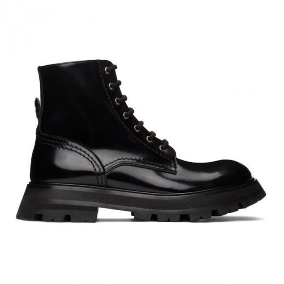 Alexander McQueen Black Wander Boots - 657569WHZ80