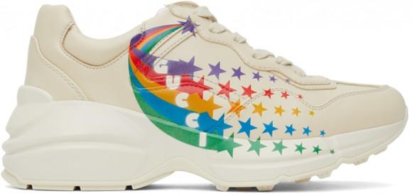 Gucci Beige Evolution Rhyton Sneakers - 660062-2SH00