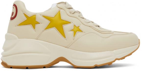 Gucci Off-White Stars Rhyton Sneakers - 660938-2SH10