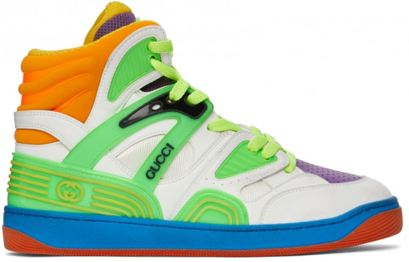 Gucci Multicolor Basket High-Top Sneakers - 661310-2SH80
