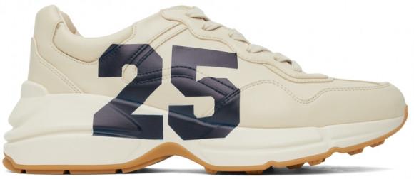 Gucci Beige '25' Evolution Rhyton Sneakers - 663339-2SH00