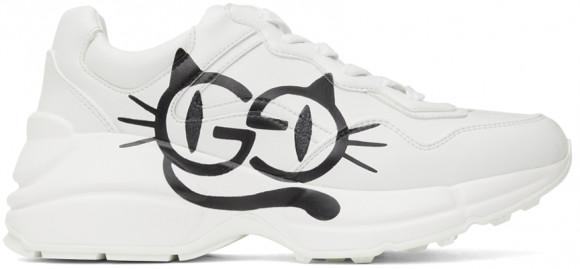Gucci White Denetra Rhyton Sneaker - 663723-2SH00