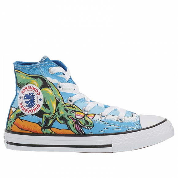 Converse Chuck Taylor All Star Dino's Beach Party High Top Canvas Shoes/Sneakers 664246C - 664246C