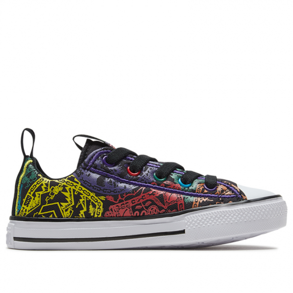 Converse Chuck Taylor All Star Low GS 'Chinese New Year' Black/White/Black Canvas Shoes/Sneakers 667335C - 667335C