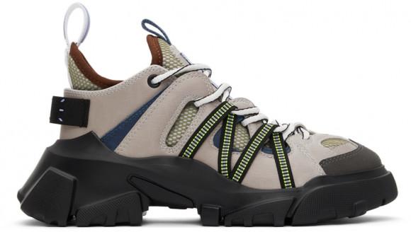 MCQ Grey & Green Orbyt Descender Sneakers - 667888-R2760