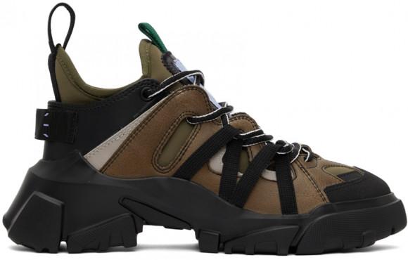 MCQ Black & Khaki Orbyt Descender Sneakers - 667888-R2761
