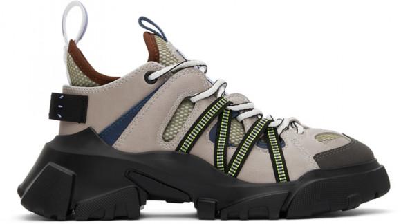MCQ Grey & Green Orbyt Descender Sneakers - 667888R2760
