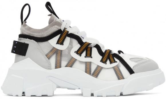 MCQ White & Grey Orbyt Descender Sneaker - 667897-R2774