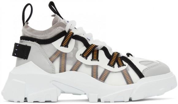 MCQ White & Grey Orbyt Descender Sneakers - 667897R2774
