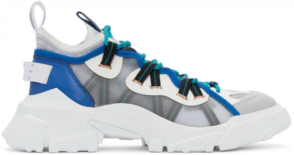 MCQ Grey & Blue Orbyt Descender Sneakers - 667897R2775
