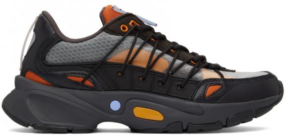 MCQ Black & Orange Aratana Sneakers - 668762R2785