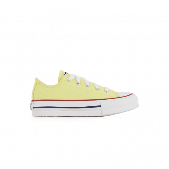 Converse Chuck Taylor All Star Lift Lo Sneaker - Little Kid / Big Kid - Yellow - 670203C