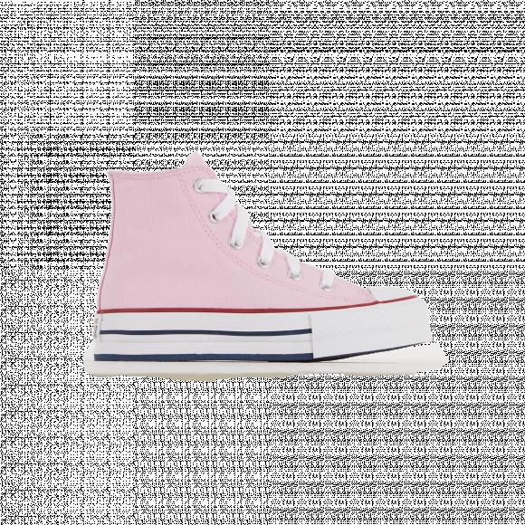 Converse Chuck Taylor All Star Hi Platform Sneaker - Little Kid / Big Kid - Pink Glaze - 671106C