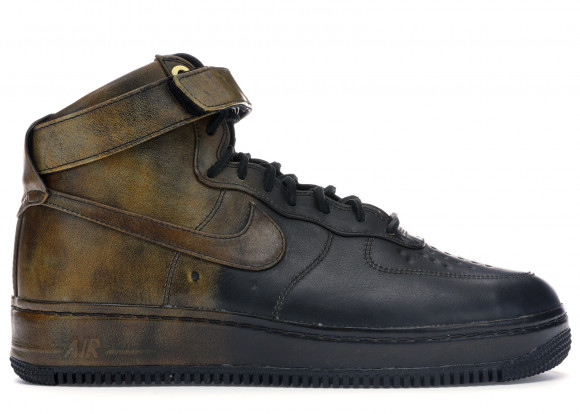 Nike Air Force 1 High Pigalle Black Gold - 677129-090