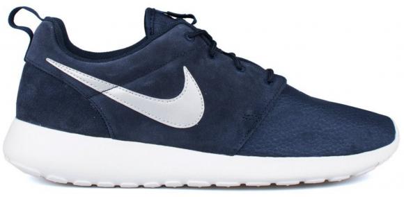 Nike Rosherun Suede Obsdn/Mtllc Slvr-Smmt Wht-Vlt 685280-417 - 685280-417