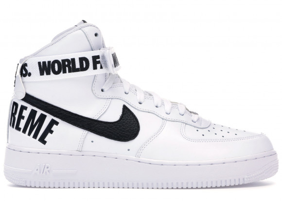 Nike Air Force 1 High Supreme World Famous White - 698696-100