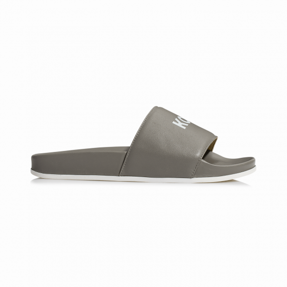 KOIO Women's Slide Sandal Black Leather Slides 8 (US) / 38 (EU) - 719839068196