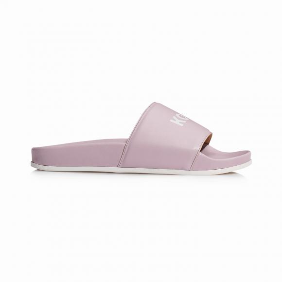 KOIO Women's Slide Pink Sandals Pink Leather Slide 8 (US) / 38 (EU) - 719878193188