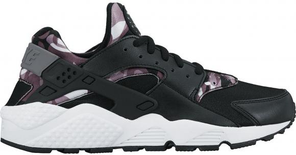 Nike Air Huarache Run Print Camo Black (W)
