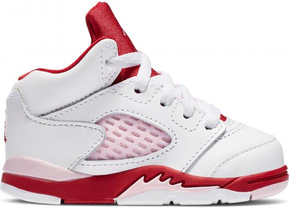 Jordan 5 Retro White Pink Red (TD) - 725172-106