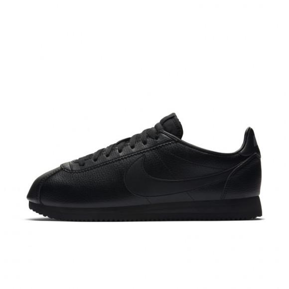 Nike Classic Cortez Leather Black/ Black-Anthracite - 749571-002