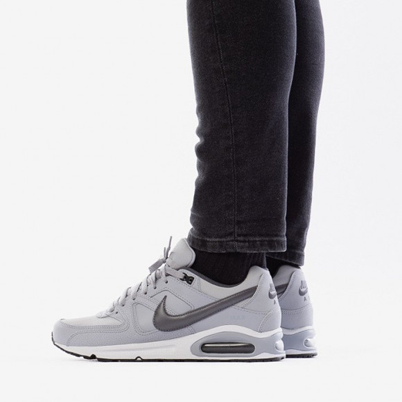 nike air max command leather grey