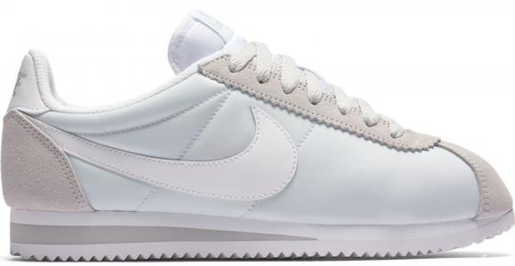 Nike Wmns Classic Cortez Nylon Pure Platinum/ White - 749864-010