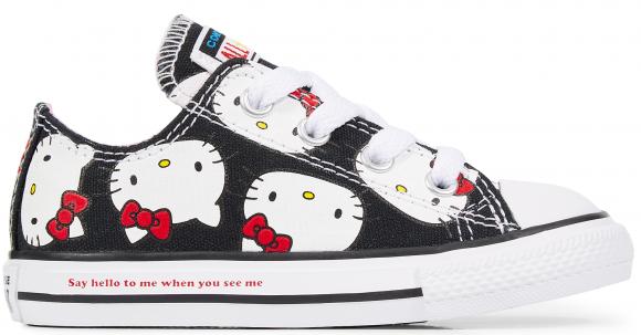 Converse Chuck Taylor All-Star Ox Hello Kitty Black (TD) - 762949C
